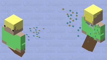 cute flying kid Minecraft Mob Skin