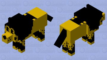 Boris the Wolf BENDY AND THE INK MACHINE Minecraft Mob Skin