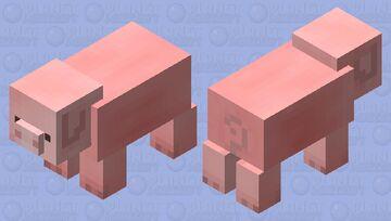 cute pig Minecraft Mob Skin