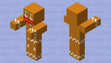 Gingerbread MOB skin Minecraft Mob Skin