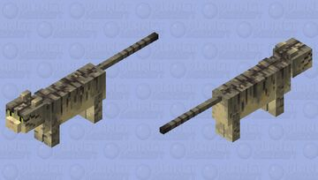 Realistic wildcat (Europa) Minecraft Mob Skin