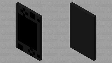 Nintendo switch lite (black) Minecraft Mob Skin