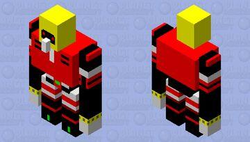 E-123 omega Minecraft Mob Skin