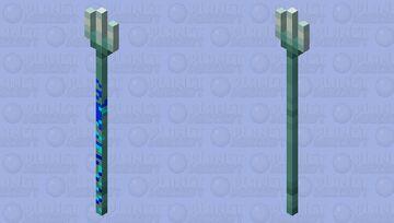 Water trident :) Minecraft Mob Skin