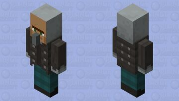 Villager disguised vindicator Minecraft Mob Skin