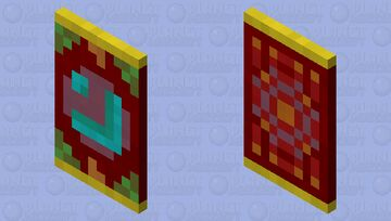 Dream Vault Banner/Cape Design Minecraft Mob Skin