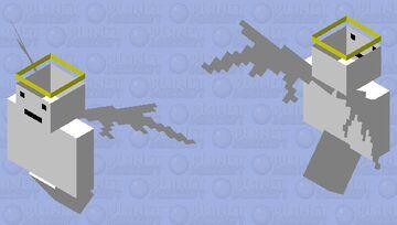 Angel Minecraft Mob Skin