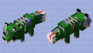 Phantom Fox animatronic Minecraft Mob Skin