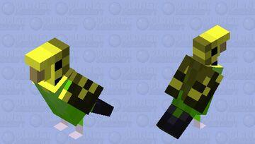 Budgerigar (Wild Pattern) Minecraft Mob Skin