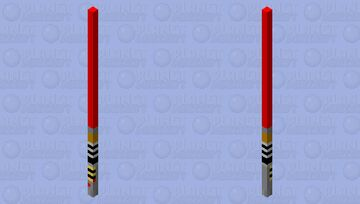 Red Lightsaber [Fixed] Minecraft Mob Skin