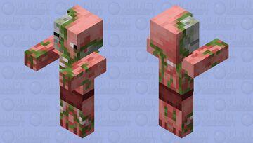 Zombie Pigman / ReTextured Minecraft Mob Skin