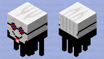 Friendly Smart Kid Ghast Minecraft Mob Skin
