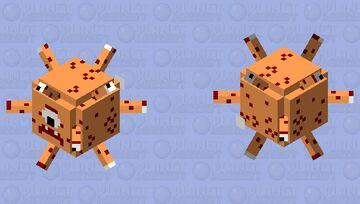 Beholder Flat Minecraft Mob Skin