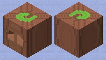 Old Pumpkin Lurker Minecraft Mob Skin
