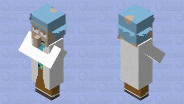 Rick Sanchez Minecraft Mob Skin
