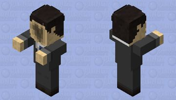The Viewers (Little Nightmares II) Minecraft Mob Skin