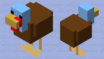 A new friend for Ted :> Minecraft Mob Skin