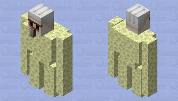 Endstone Protecter (From Hypixel Skyblock) Minecraft Mob Skin