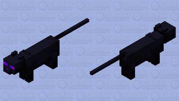 Fury cat (SM3DW + Bowser's fury) Minecraft Mob Skin