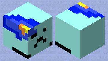 Dying/Melting Ice Cube (BFB/BFDI) Minecraft Mob Skin