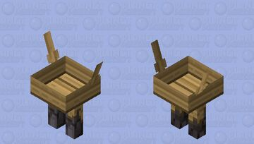 This boat has legs Minecraft Mob Skin