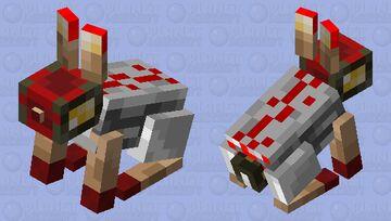 Reanimated Rabbit - ( 🎃Halloween Contest Entry 🎃) Minecraft Mob Skin