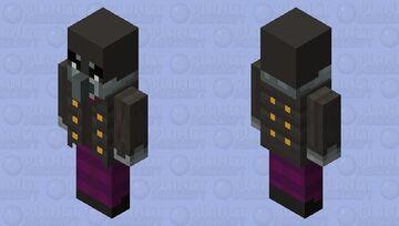 Armored Vindicator Minecraft Mob Skin