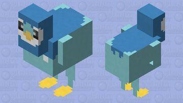 Piplup - Pokemon Chicken Replacer Minecraft Mob Skin