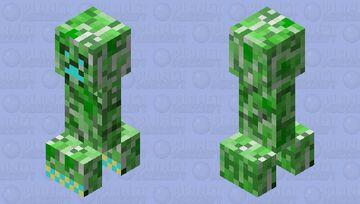 What did I make Minecraft Mob Skin