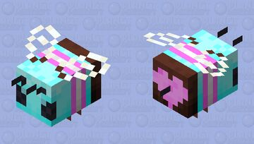 every minecraft bee is trans Minecraft Mob Skin