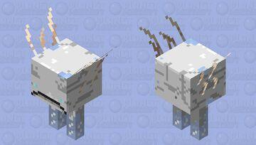 Frosted Strider Minecraft Mob Skin