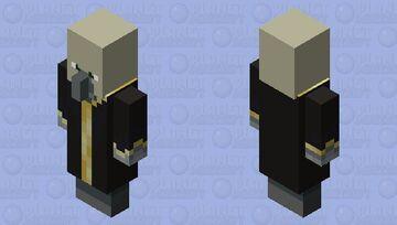 Skull evoker Minecraft Mob Skin