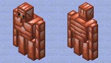 The Copper Golem (Retexture) Minecraft Mob Skin