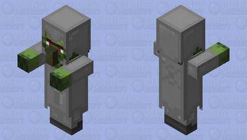 Warrior Zombie Villager (really dangerous) Minecraft Mob Skin