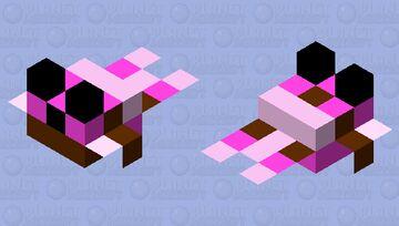 Cute Happy Pufferfish (small) 2.0 Minecraft Mob Skin