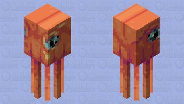 Space Squid (+art) Minecraft Mob Skin