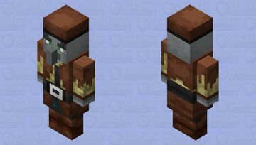 Cowboy Illager(30 Subscribers Special)(I Made) Minecraft Mob Skin