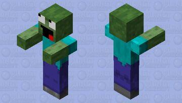 annoying zombie Minecraft Mob Skin