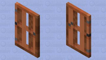 Acacia Door Cape Minecraft Mob Skin