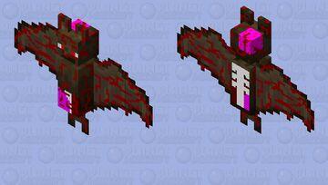 Zombie Bat Minecraft Mob Skin