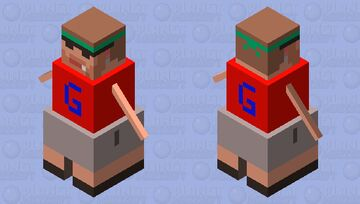 TGG Snow Golem Ol' Garbo Minecraft Mob Skin