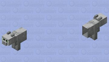 SCP-529 Minecraft Mob Skin