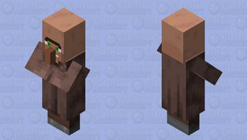 Element Animation style villager Minecraft Mob Skin