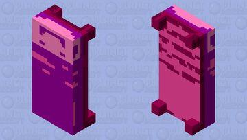 an endermans bed Minecraft Mob Skin