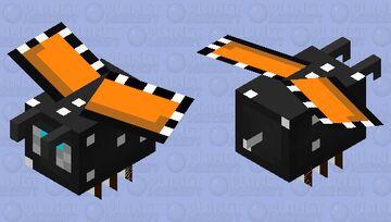 Monarch butterfly Minecraft Mob Skin