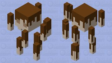 Pocky Stick Blaze Minecraft Mob Skin