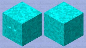 Zombie shulker cyan version Minecraft Mob Skin