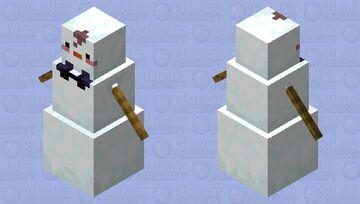 Wholesome snowman    -Waltter Minecraft Mob Skin