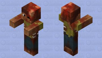 Mutilated Zombie Mutation Minecraft Mob Skin