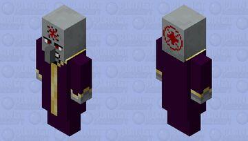 Evil Necromancer Minecraft Mob Skin